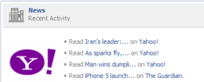 Facebook OpenGraph News items